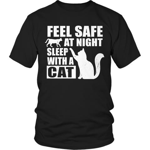 Limited Edition - Feel safe at night sleep with a cat