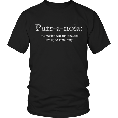 Limited Edition - Purr-a-noia: The Morbid Fear That The Cats Are Up To Something