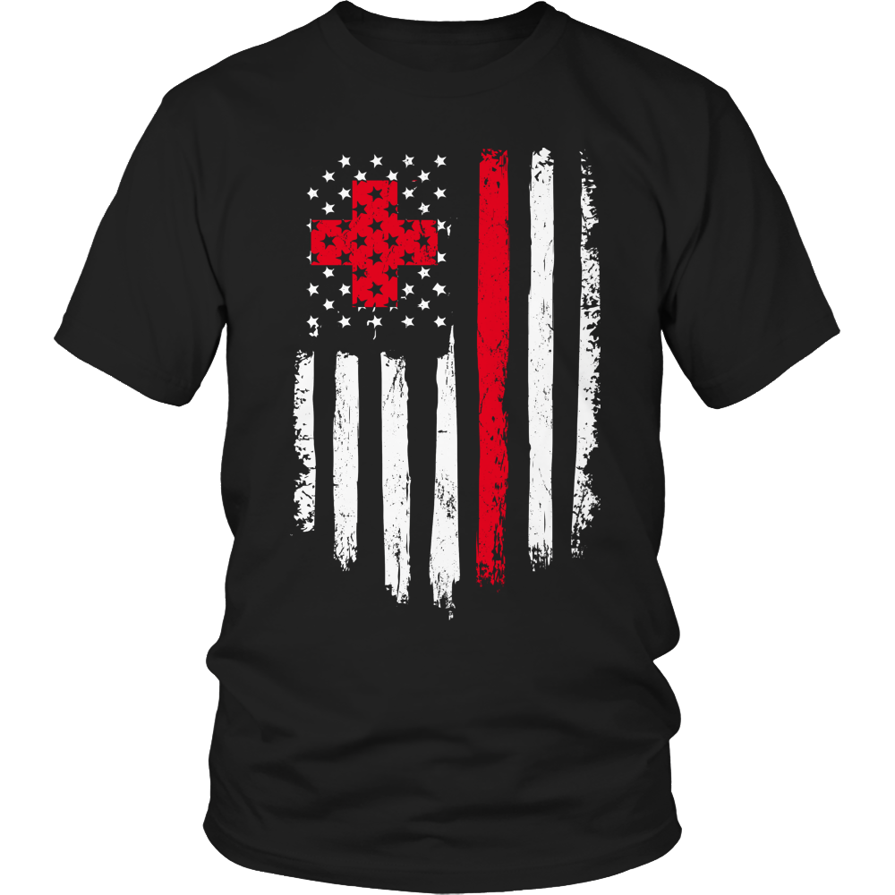 Free Shipping!! Code: FREESHIP16 - Nurse Flag Shirt - See Shirt Styles Below