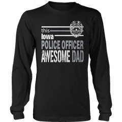 Limited Edition - This Iowa Police Officer Is An Awesome Dad