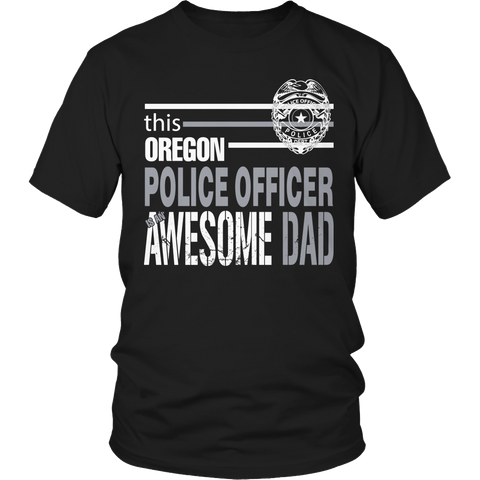 Limited Edition - This Oregon Police Officer Is An Awesome Dad