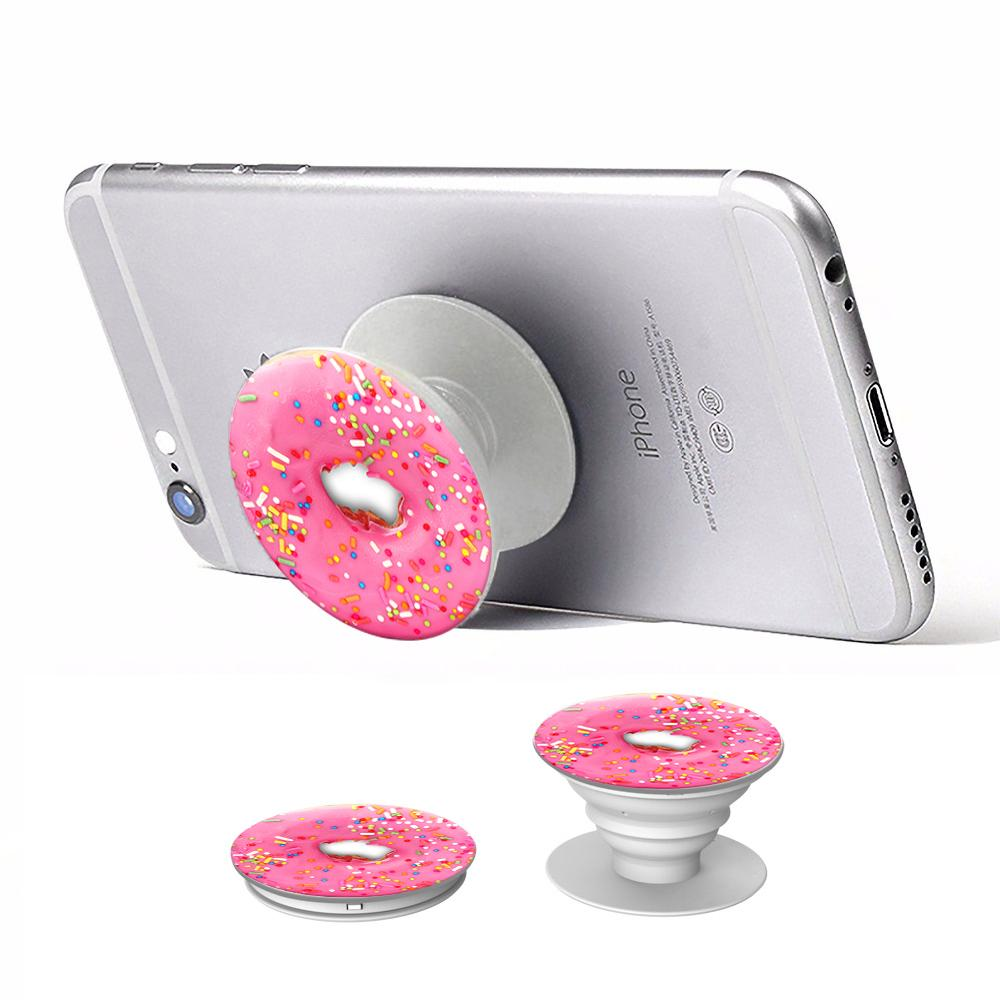 Donut mobile phone stand