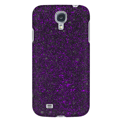 Smart Phone Case - Samsung & iPhones - All Models - Purple Speckled
