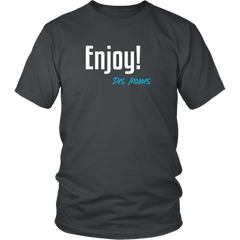 Enjoy! Des Moines Tshirt - Just Words