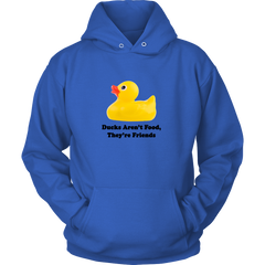 Ducks Aren't Food They're Friends T-shirt - Hoodie - Long Sleeve Tee - Womens