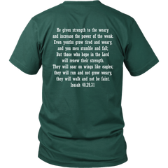Moriah's Army Against Leukemia - District Unisex T-Shirt