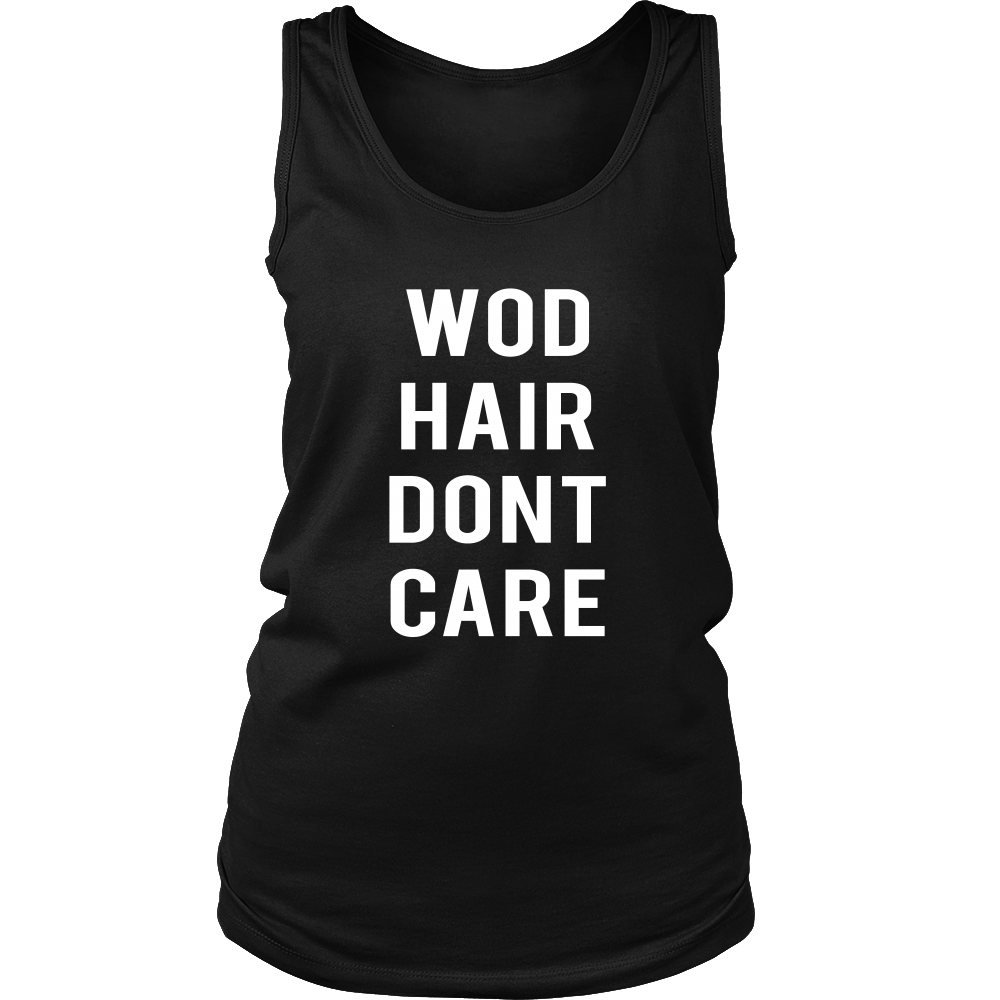 WOD Hair Don't Care - Crossfit Tank