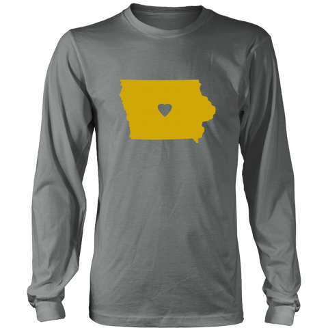 iowa state love long sleeve tshirt, long sleeve tee - t-shirt