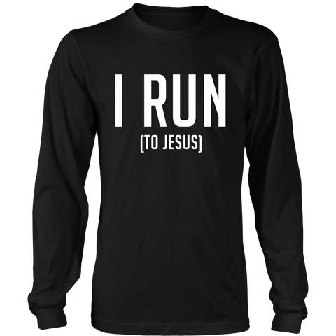 I Run (To Jesus)