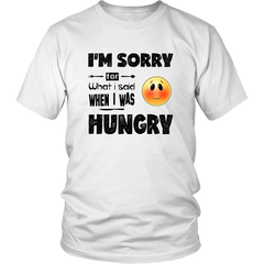 I'M SORRY for what i said when i was HUNGRY - Emoticon