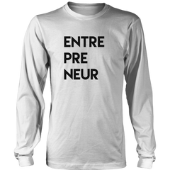 ENTREPRENEUR Long Sleeve T-shirt