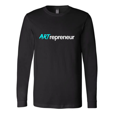 ARTrepreneur - Teal - Canvas Long Sleeve Shirt