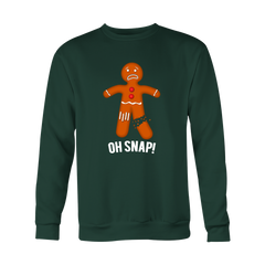 OH SNAP! - Ugly Christmas Sweater - Gingerbread Man