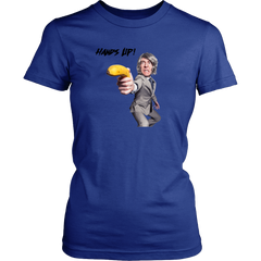 Hands Up! Banana Man! - Unisex tshirt, Men's, & Women's Styles