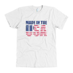 Made in the USA - distressed - American Apparel T-shirt