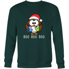 Owl Christmas Sweater - Hoo Hoo Hoo