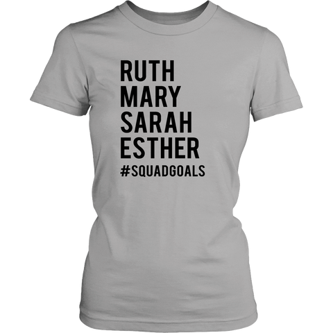 Ruth Mary Sarah Esther #Squadgoals - Bible Sisters