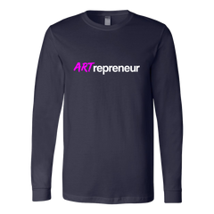 ARTrepreneur - Canvas Long Sleeve Shirt