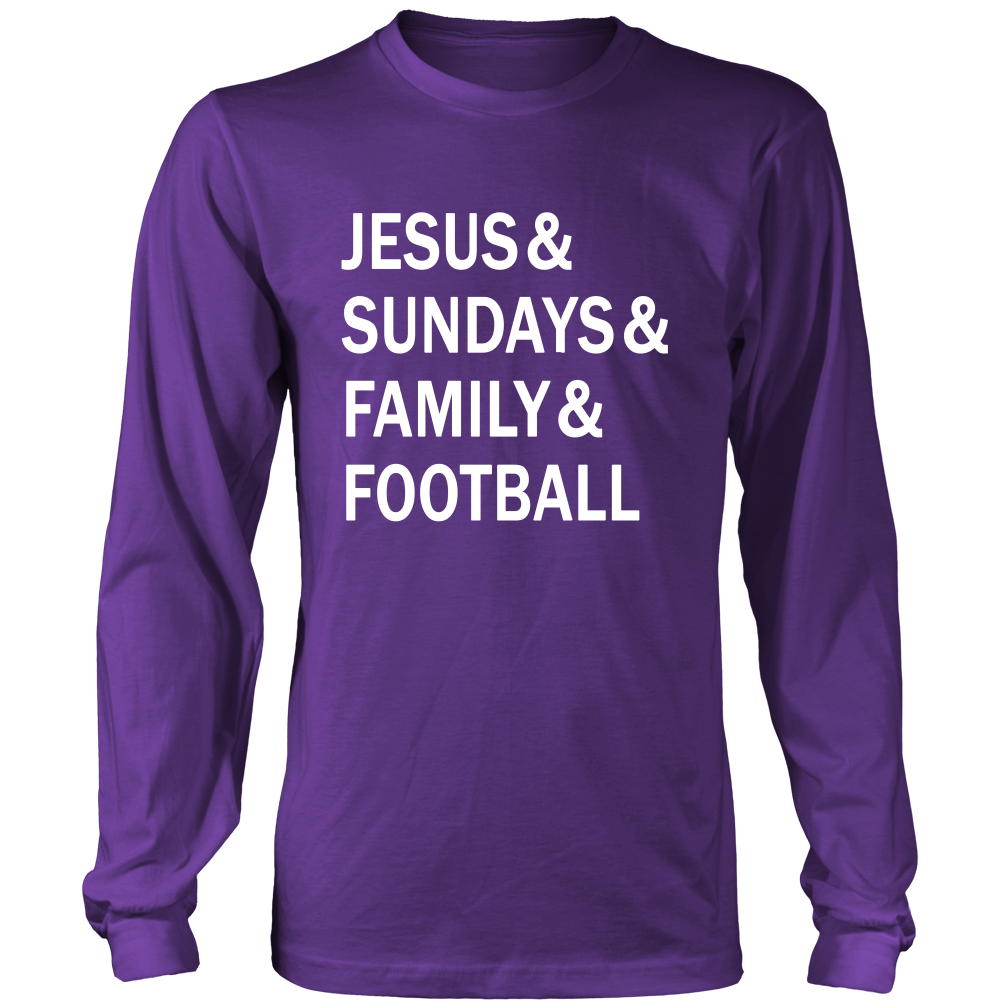Jesus & Sundays & Family & Football