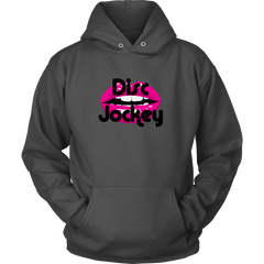 Disc Jockey Pink Lips! - Mainly for Women but there's a Unisex Hoodie