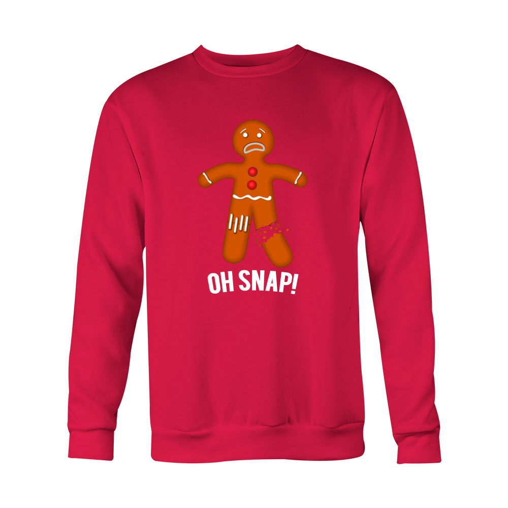 OH SNAP! - Ugly Christmas Sweater - Gingerbread Man – WinkingCow