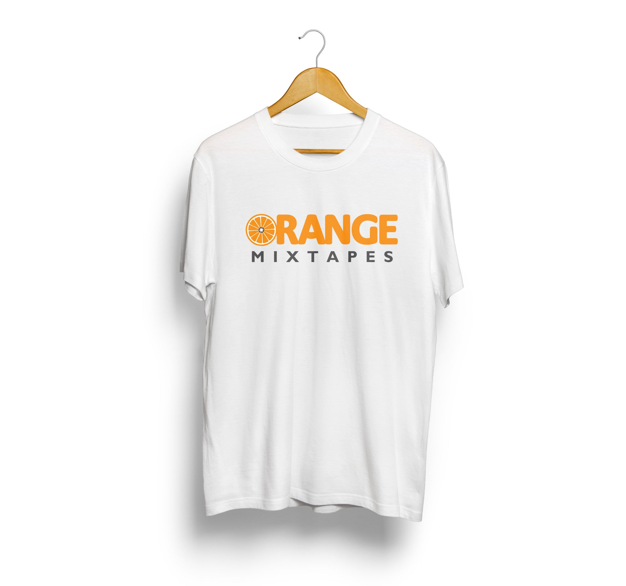 Orange Mixtapes Official Logo Tee - SLAE Apparel