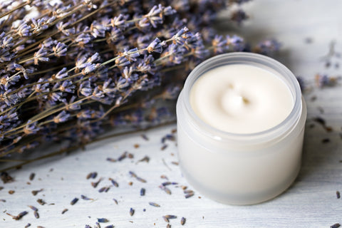 Natural Vitamin Rich Lavender Eye Cream 1 oz - The Chirping Cat Apothecary