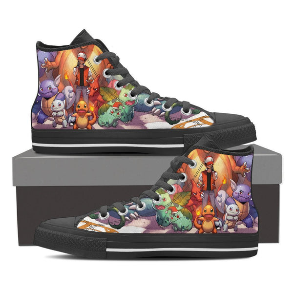 Venusaur Charizard Blastoise High Top Canvas Shoe