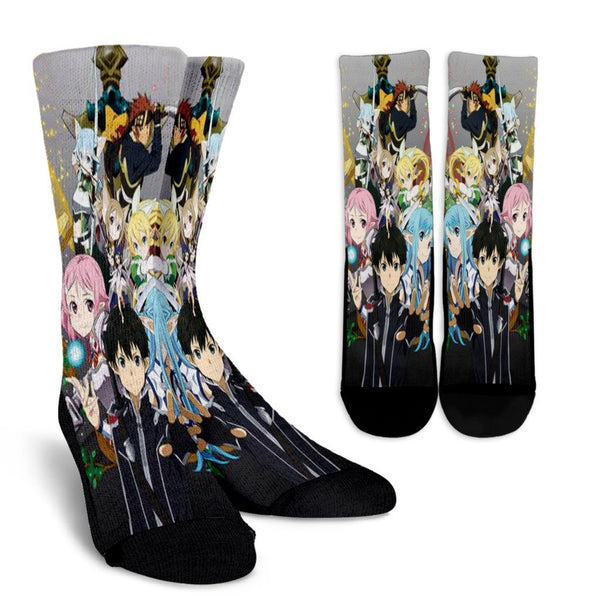 Sword Art Online US Crew Socks