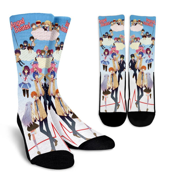 Team Angel Beats Crew Socks