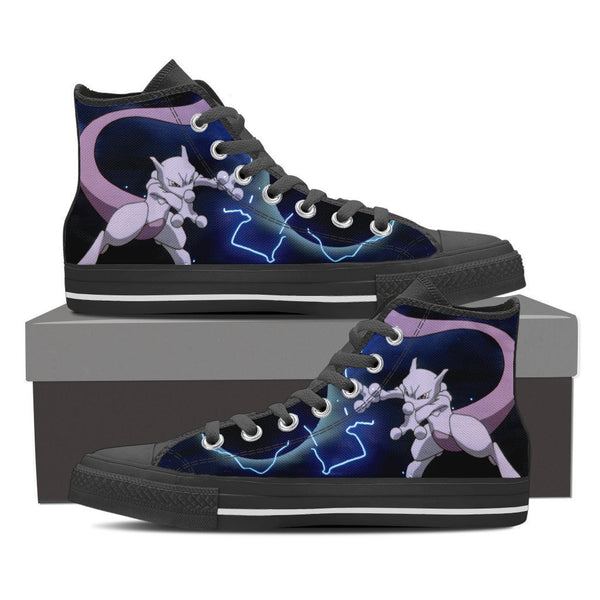 Pokemon Mewtwo High Top Canvas Shoe