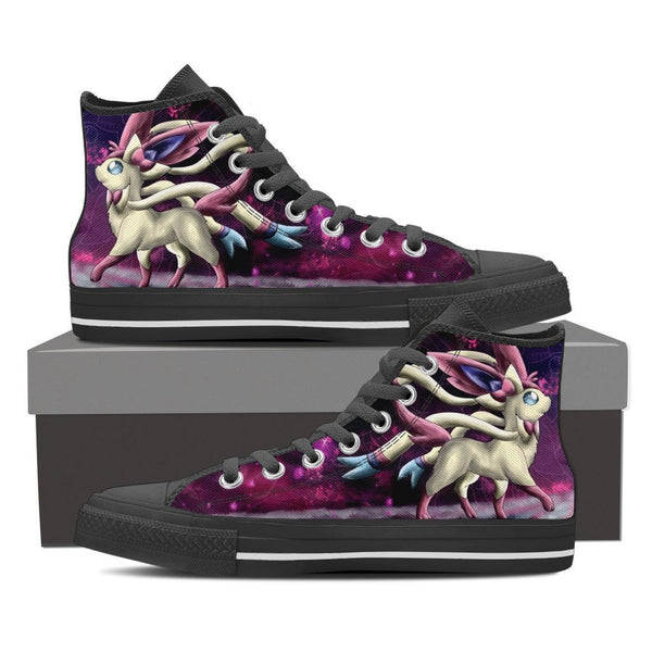 Pokemon Sylveon High Top Canvas Shoe