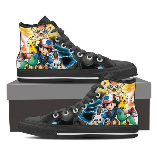 Pokemon Satoshi High Top Canvas Shoe