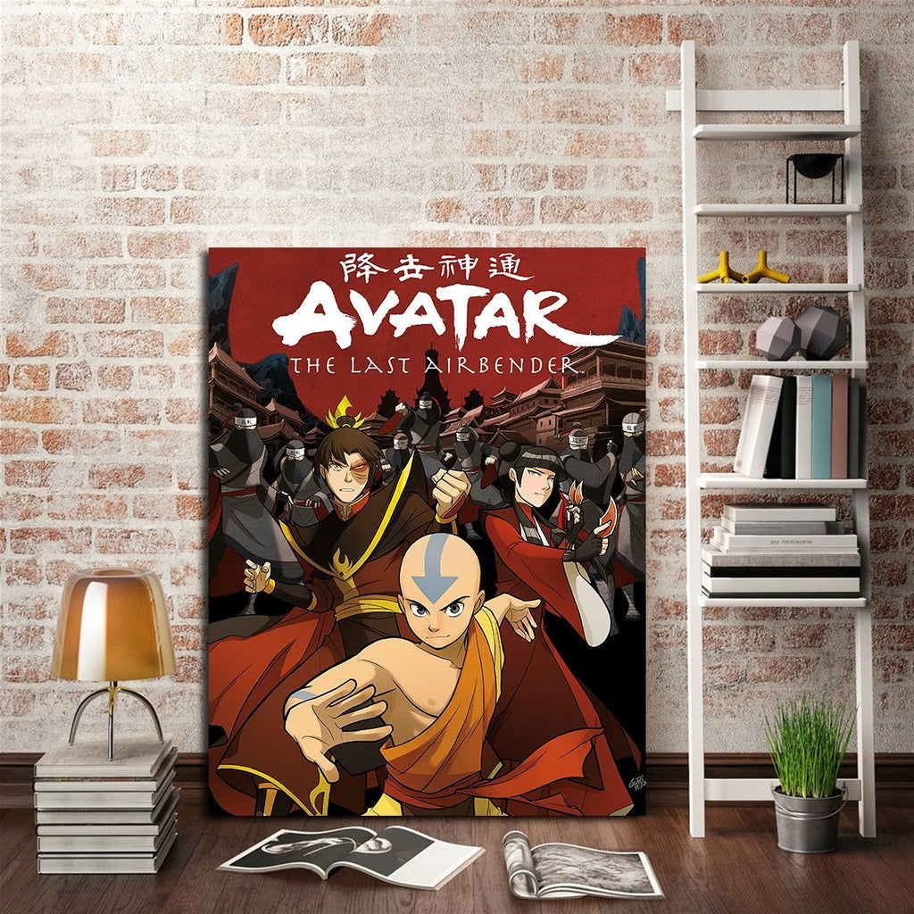 1 Panel The Last Airbender Poster Wall Art Canvas