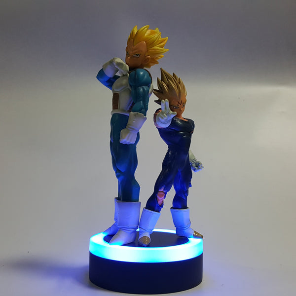 Two Vegeta 3D Lamp