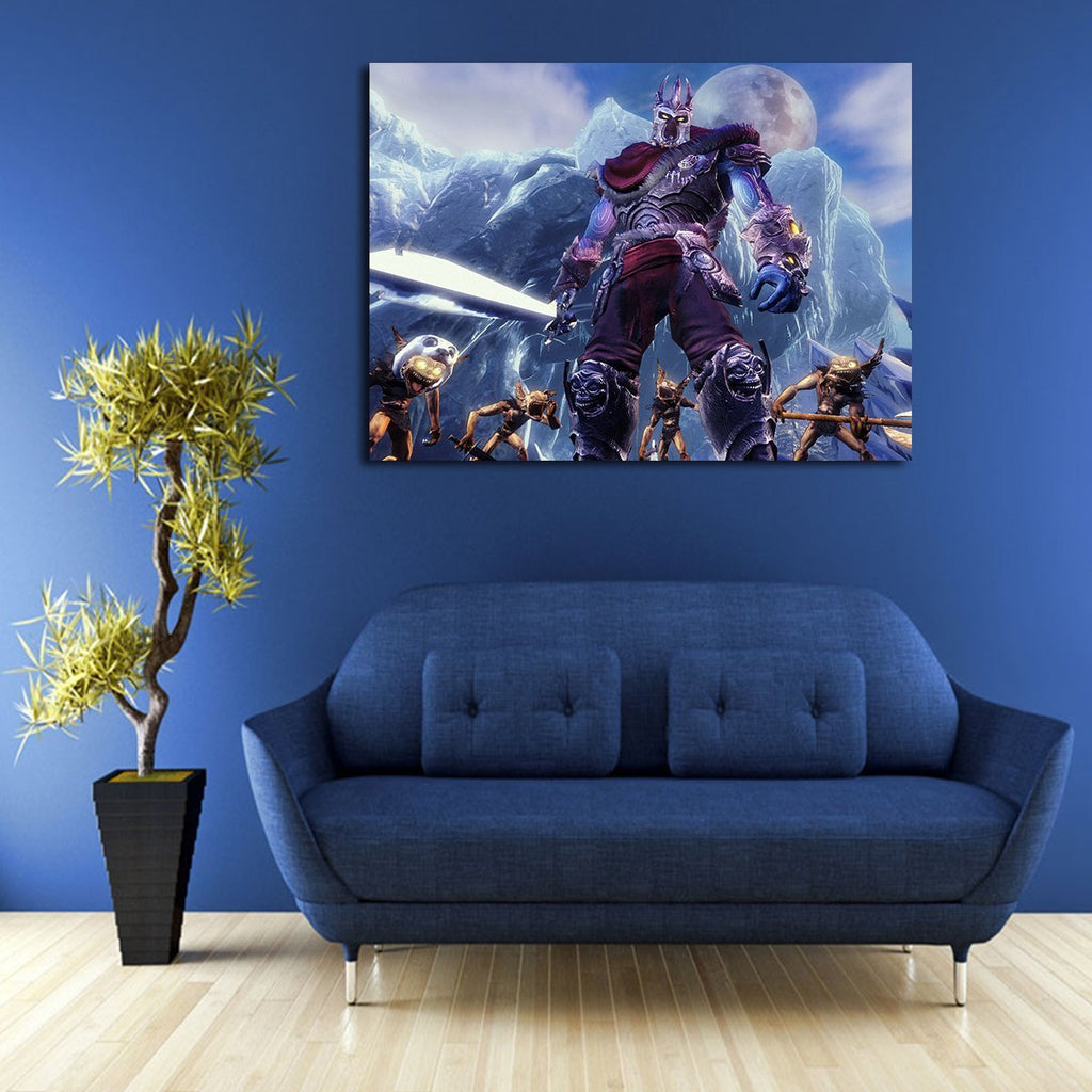 1 Panel Overlord And His Minions In Overlord 2 Wall Art Canvas