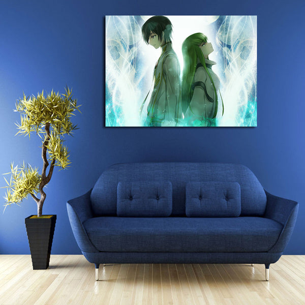Code Geass Lelouch And CC Wall Art Canvas