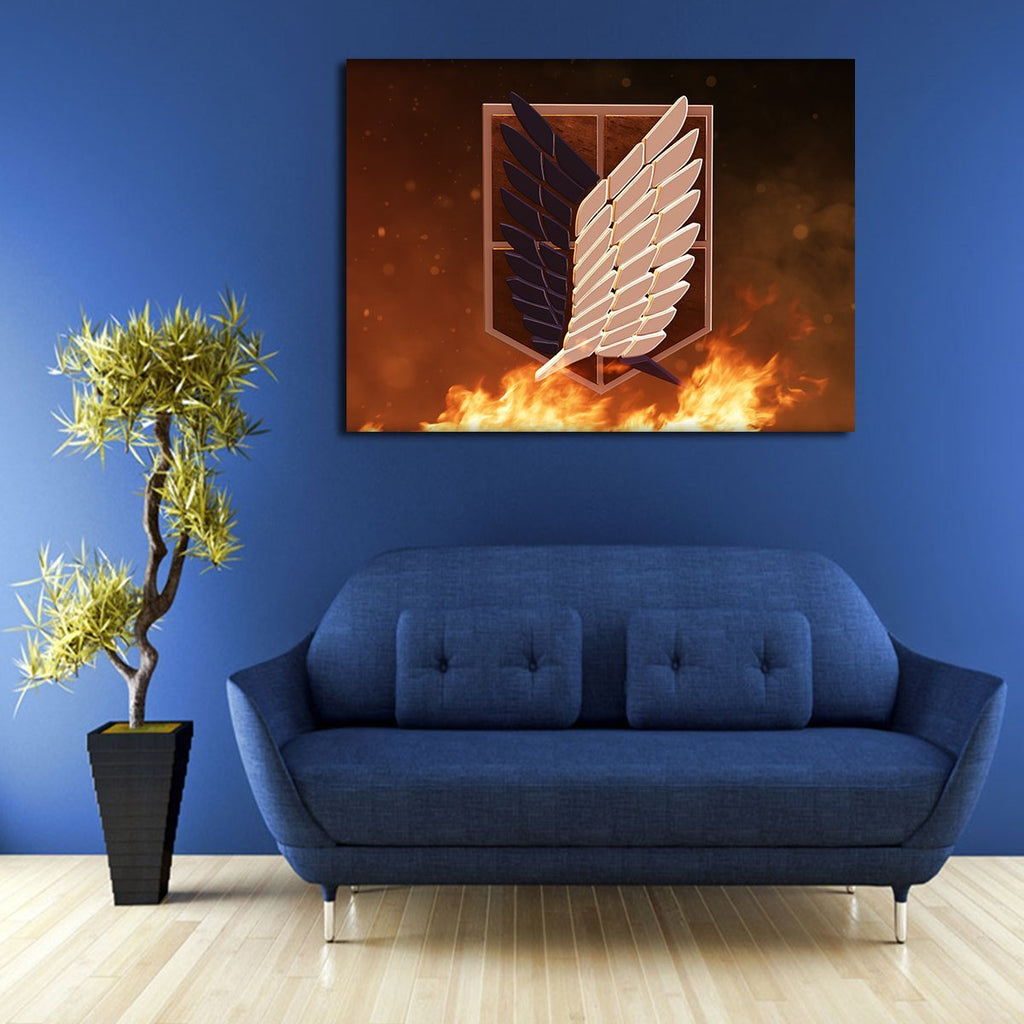 1 Panel Attack On Titan Archives Wall Art Canvas