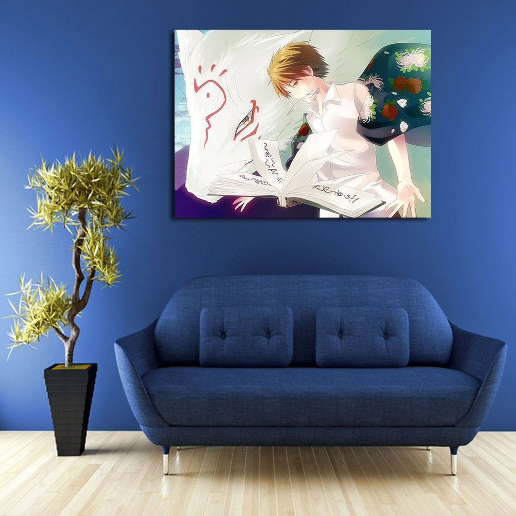 1 Panel Madara And Natsume Wall Art Canvas