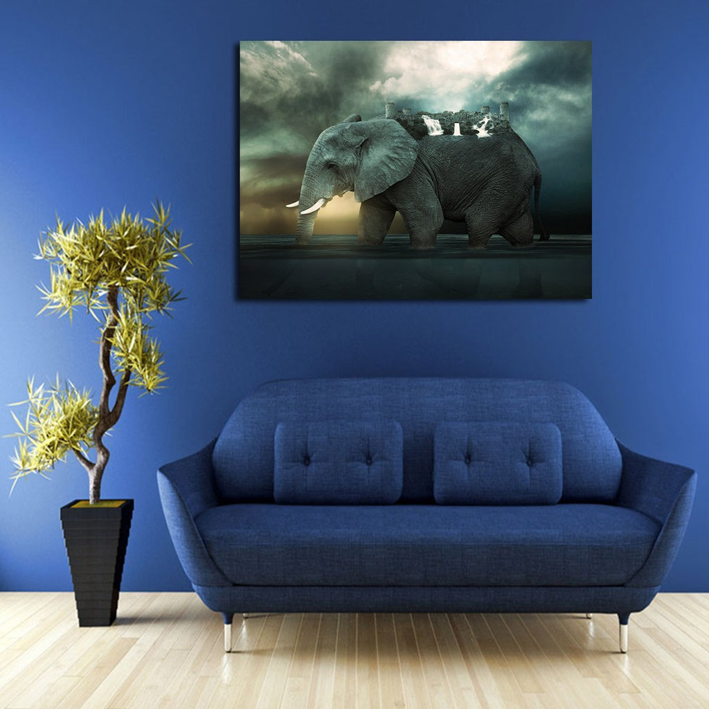 1 Panel One Piece Elephant Island Wall Art Canvas