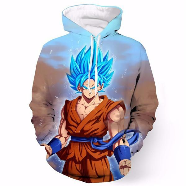 Newest Goku Blue Shirts