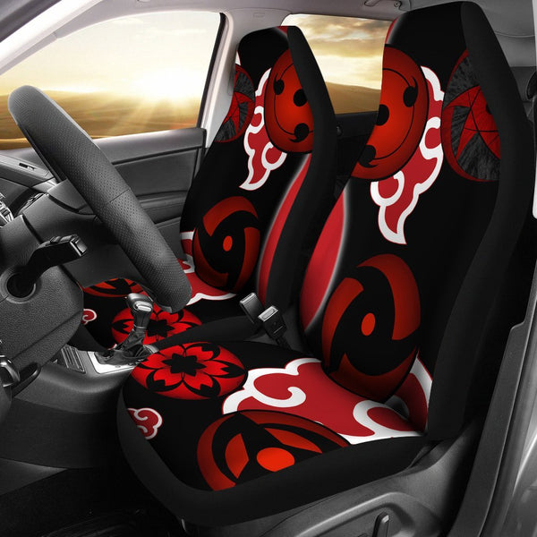 Naruto Sharingans Car Seat Cover