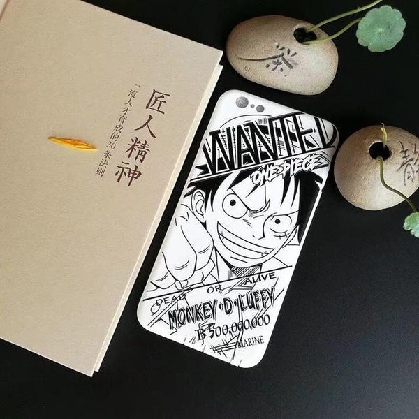 Luffy Soft Cover Case For iPhone