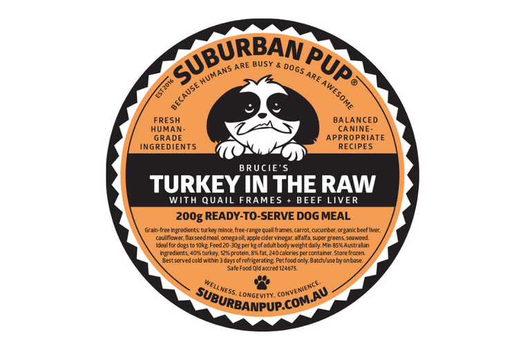 Turkey in the Raw (raw, reduced allergen)