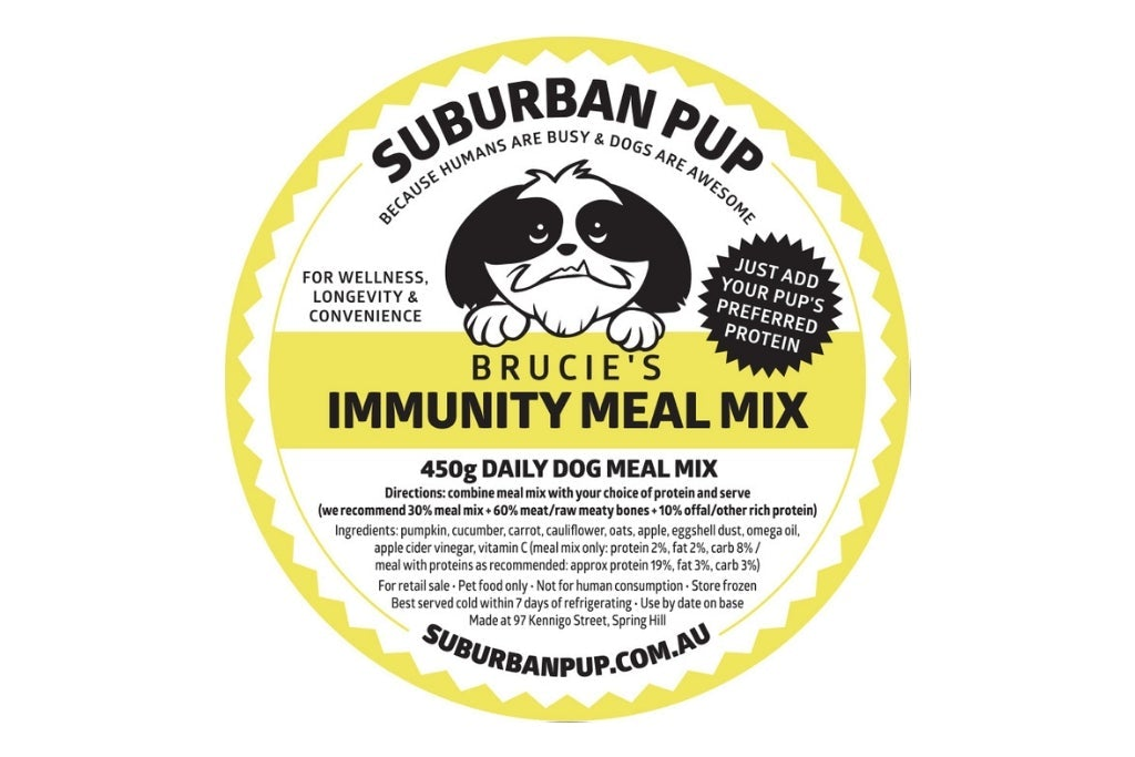 Brucie's Immunity Meal Mix