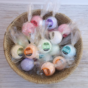 BATH FIZZIES - with essential oils (singles)