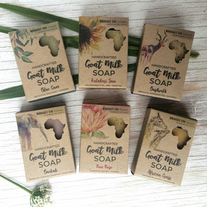 BUSHVELD - Honeybush Tea, Marula + Patchouli Goat Milk Soap