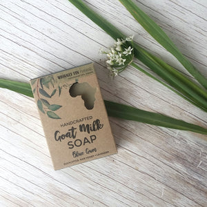 Goat Milk Soap with Essential Oils of Eucalyptus and African Lavender