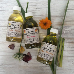 MATERNITY BATH + BODY OIL - with Hempseed Oil