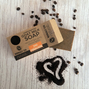 KITCHEN SCRUB - Coffee + Orange Goat Milk Soap